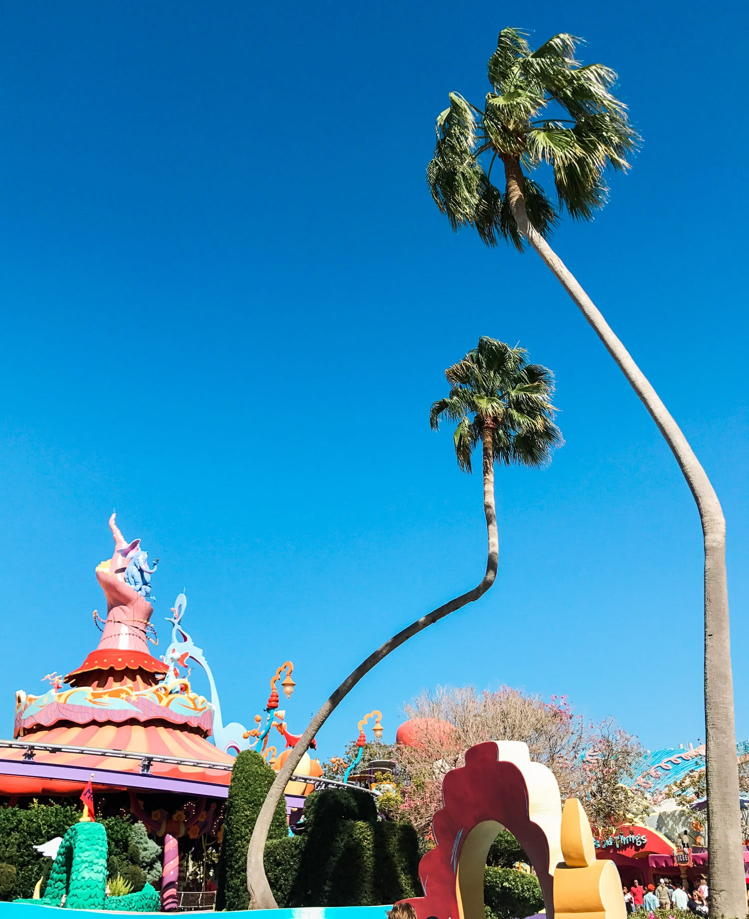 Dr. Seuss land at Universal Studios' Islands of Adventure theme park is just so magical! Planning a trip to Orlando? I've rounded up the top 10 things to do in Orlando, Florida, that are guaranteed to make your trip a success. Whether you're moving to Orlando or just headed in on vacation, you will LOVE this list of fun activities in Orlando by Florida travel blogger Ashley Brooke Nicholas #CORTatHome sponsored by CORT Furniture | affordable travel tips, orlando vacation tips, vacation tips,Flor