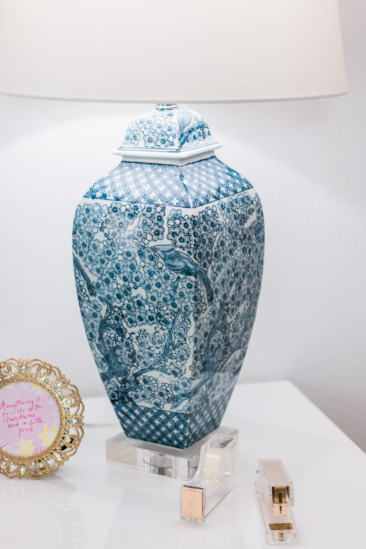 valspar home office tour ashley brooke nicholas cute office inspiration target style blue lamp