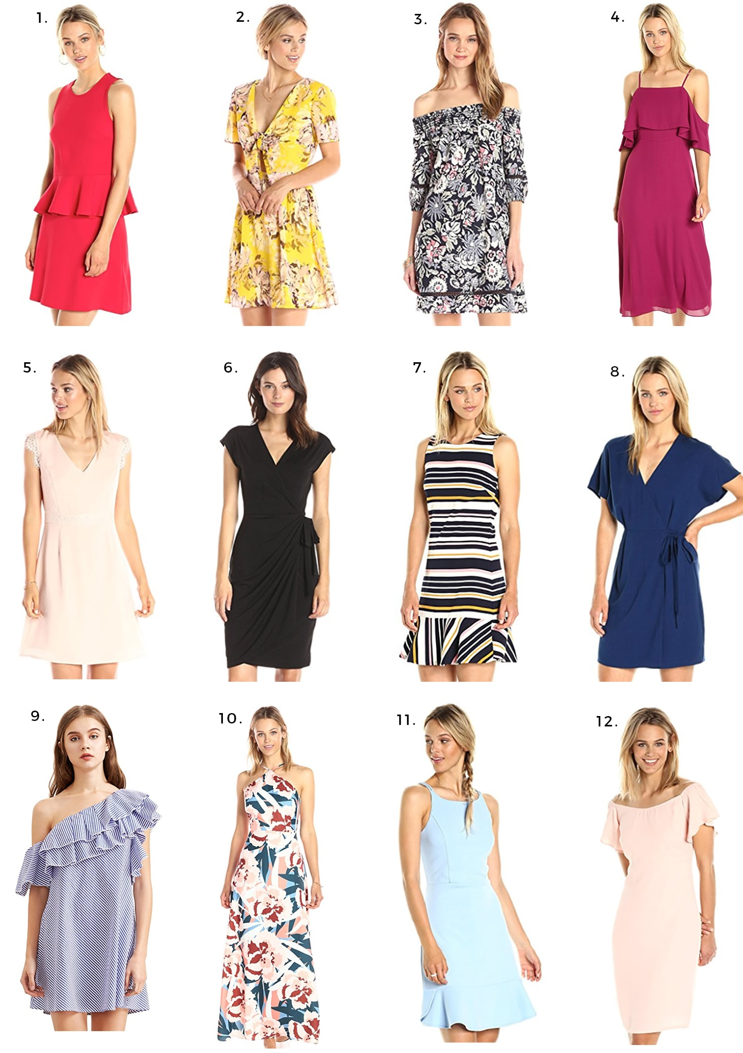 Cute dresses under $50 that ship free with Amazon Prime by Orlando fashion blogger Ashley Brooke Nicholas |  amazon fashion finds, affordable fashion