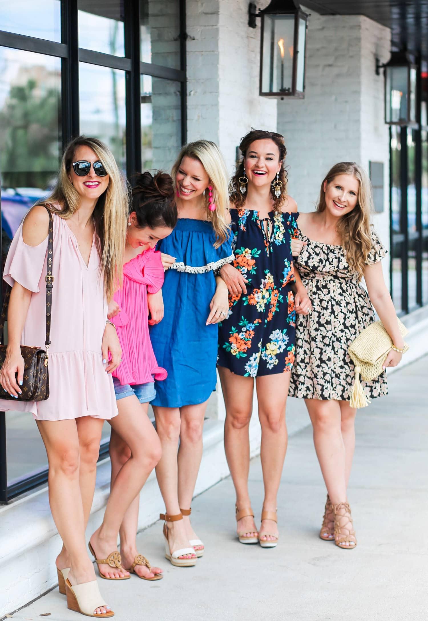 Orlando and Tampa fashion bloggers: Meet at The Barre, Diary of A Debutante, So Sarah Hunt, Mash Elle, Ashley Brooke Nicholas