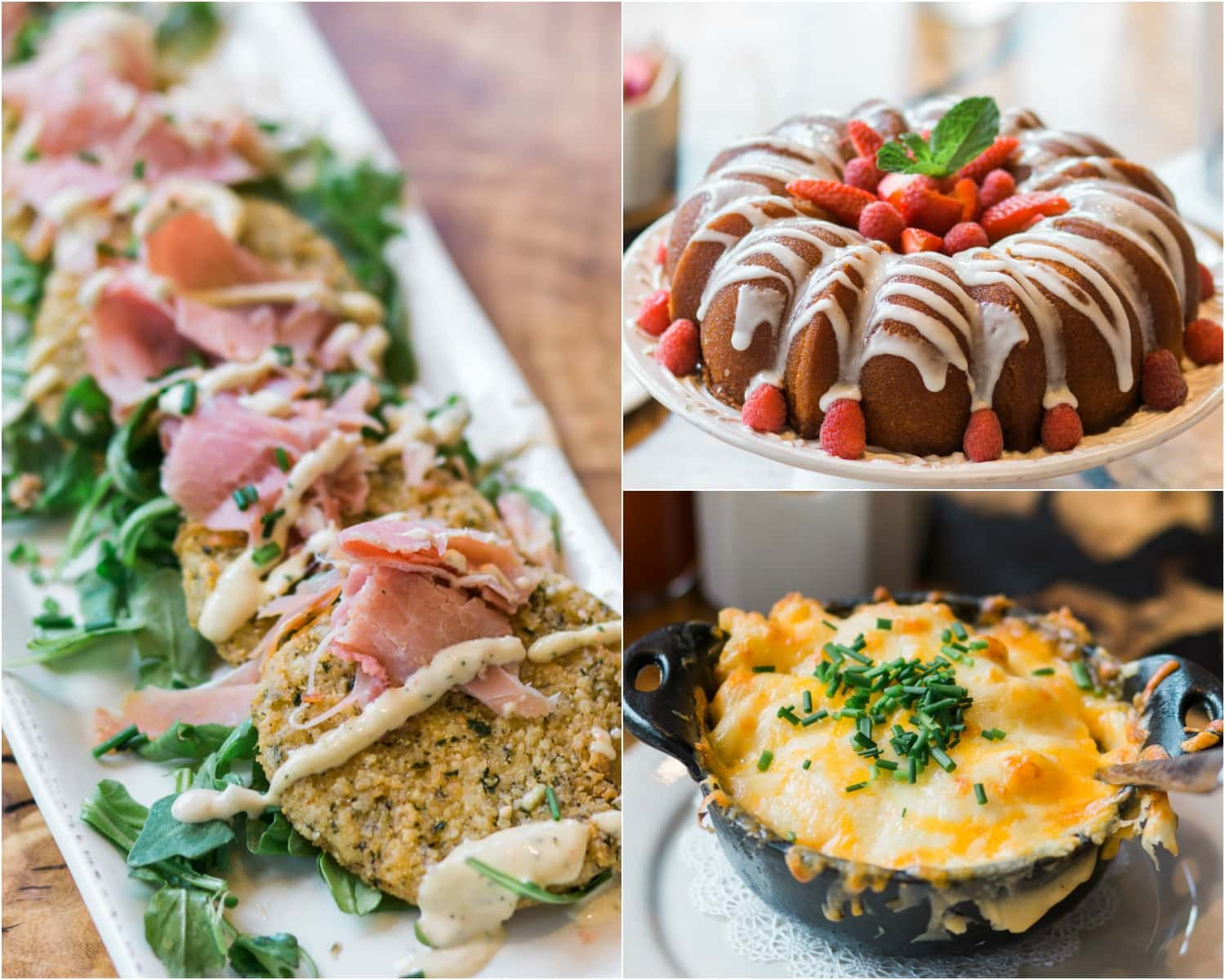 Fried green tomatoes, macaroni and cheese, and moonshine cake at Homecomin' Restaurant in Disney Springs | Planning a trip to Orlando? I've rounded up the top 10 things to do in Orlando, Florida, that are guaranteed to make your trip a success. Whether you're moving to Orlando or just headed in on vacation, you will LOVE this list of fun activities in Orlando by Florida travel blogger Ashley Brooke Nicholas #CORTatHome sponsored by   @cortfurniture    affordable travel tips, orlando vacation tips, vacation tips, orlando eye, leu gardens, universal studios, islands of adventure, disney, disney springs