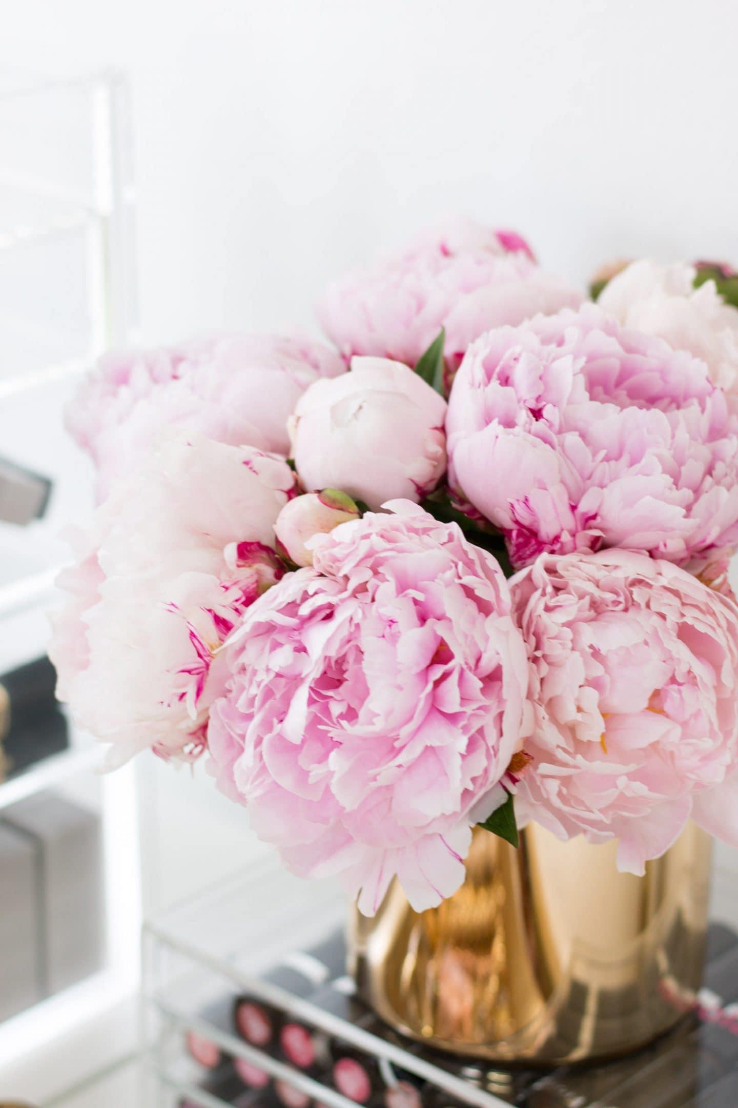 good day inspiration tips ashley brooke nicholas pretty pink flowers