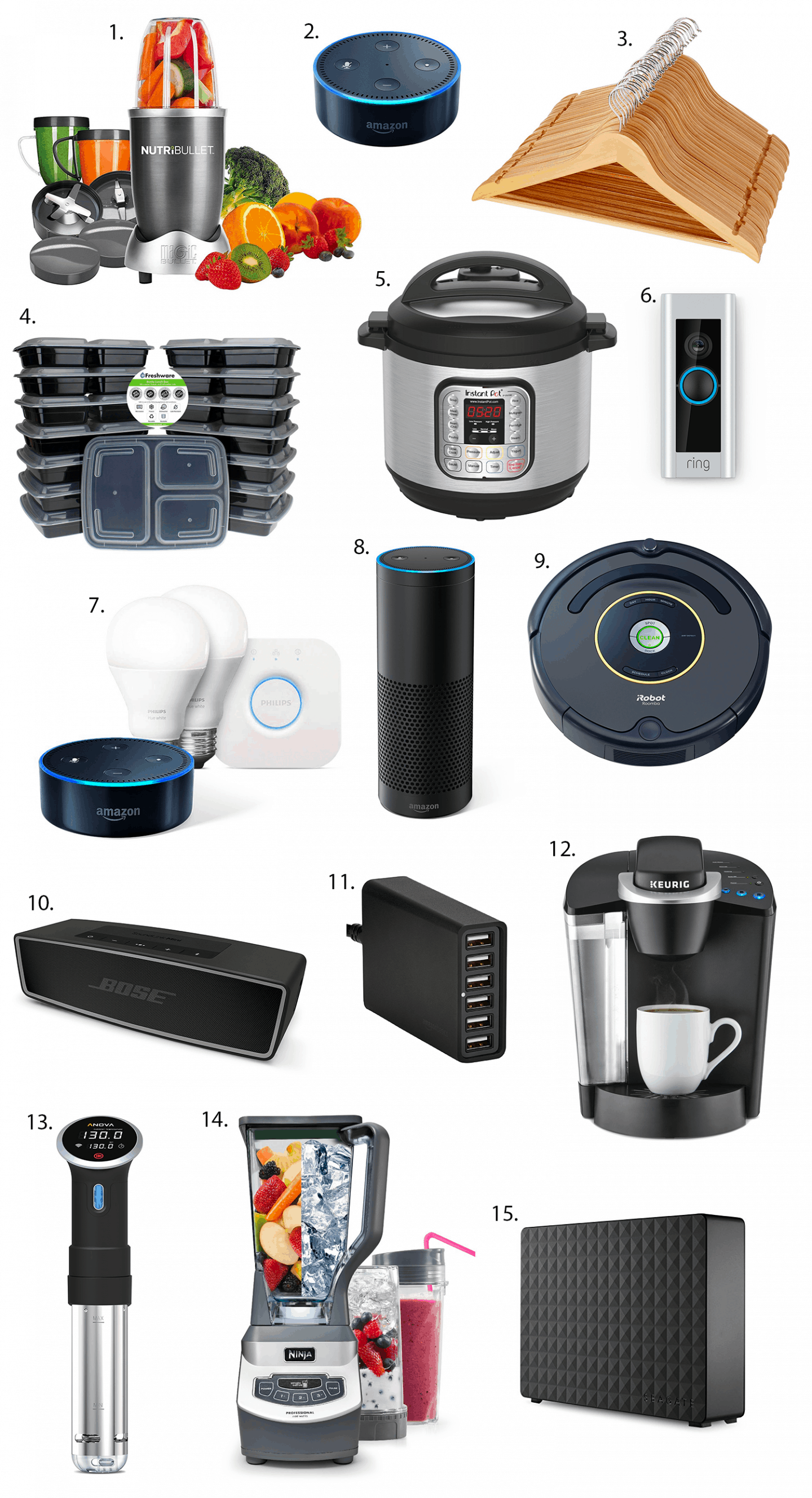 The best deals from Amazon Prime Day - including major sales on the Echo, Echo Dot, Anova Sous Vide, Rumba, Instant Pot, Ninja blender, Ring doorbell, and more!