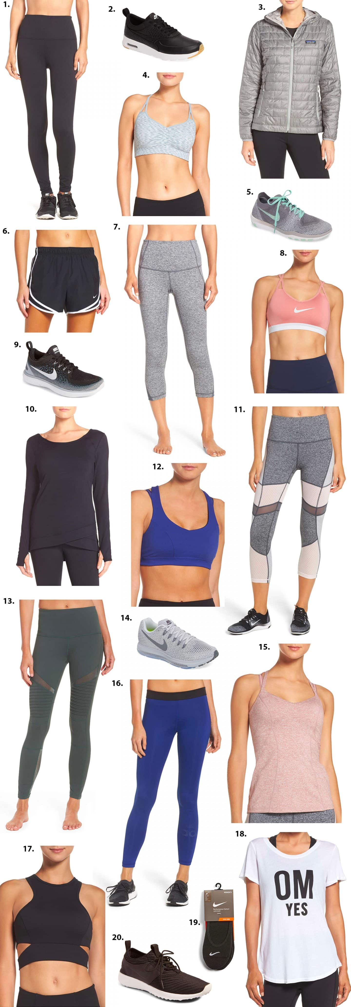 Nordstrom Anniversary Sale Activewear deals fashion Ashley Brooke Nicholas Style Blogger