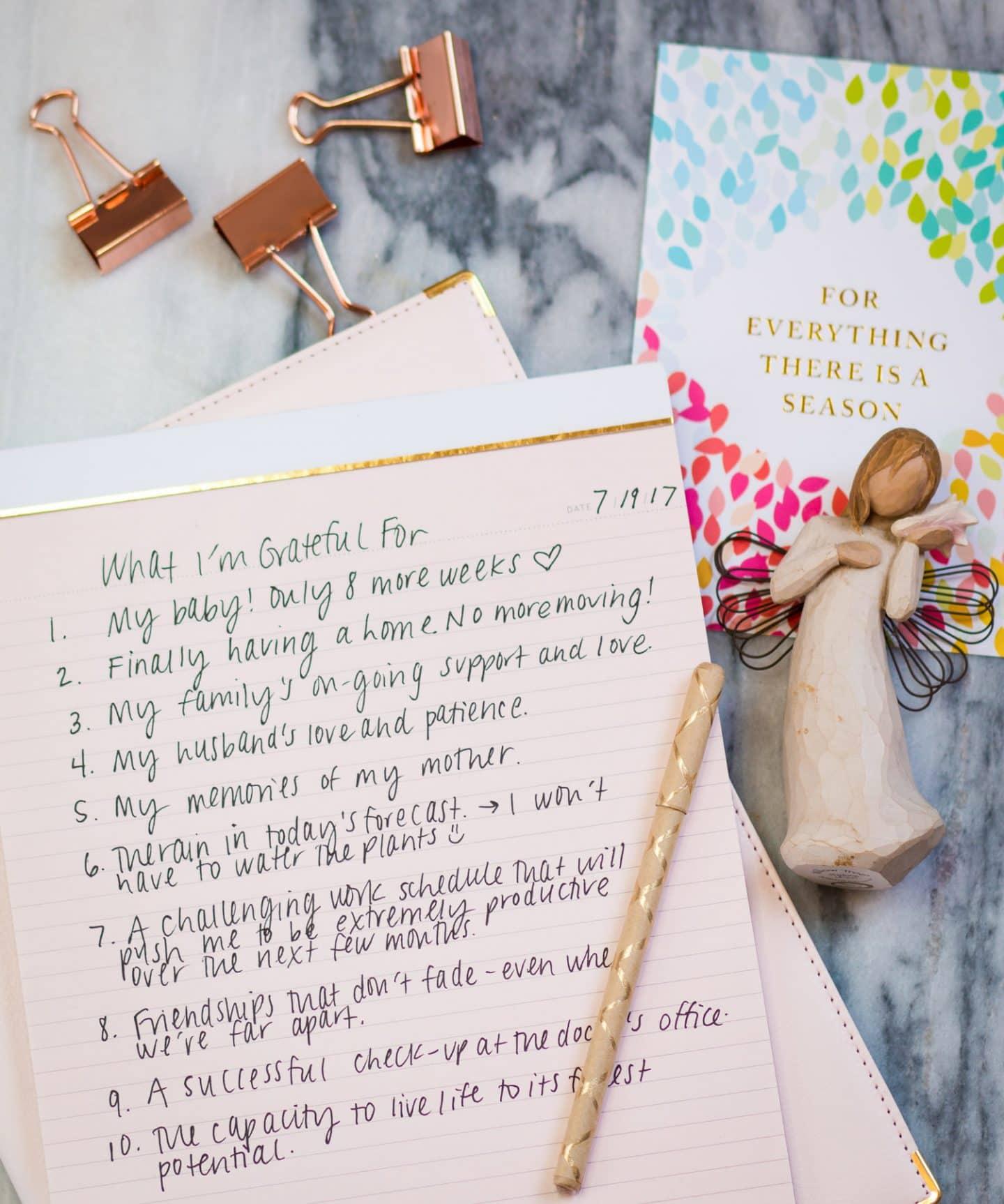 good day inspiration tips ashley brooke nicholas gratitude journal better day tips