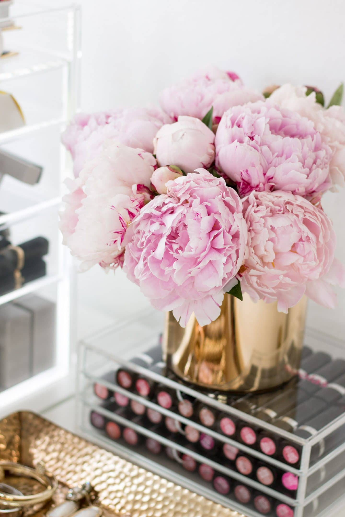 valspar home office tour ashley brooke nicholas cute office inspiration target style flowers makeup