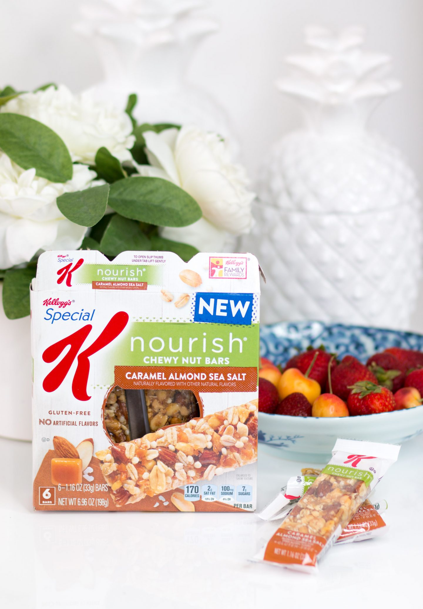 cute office supplies and special k nourish bars and stationery goal getter game plan from blogger Ashley Brooke Nicholas