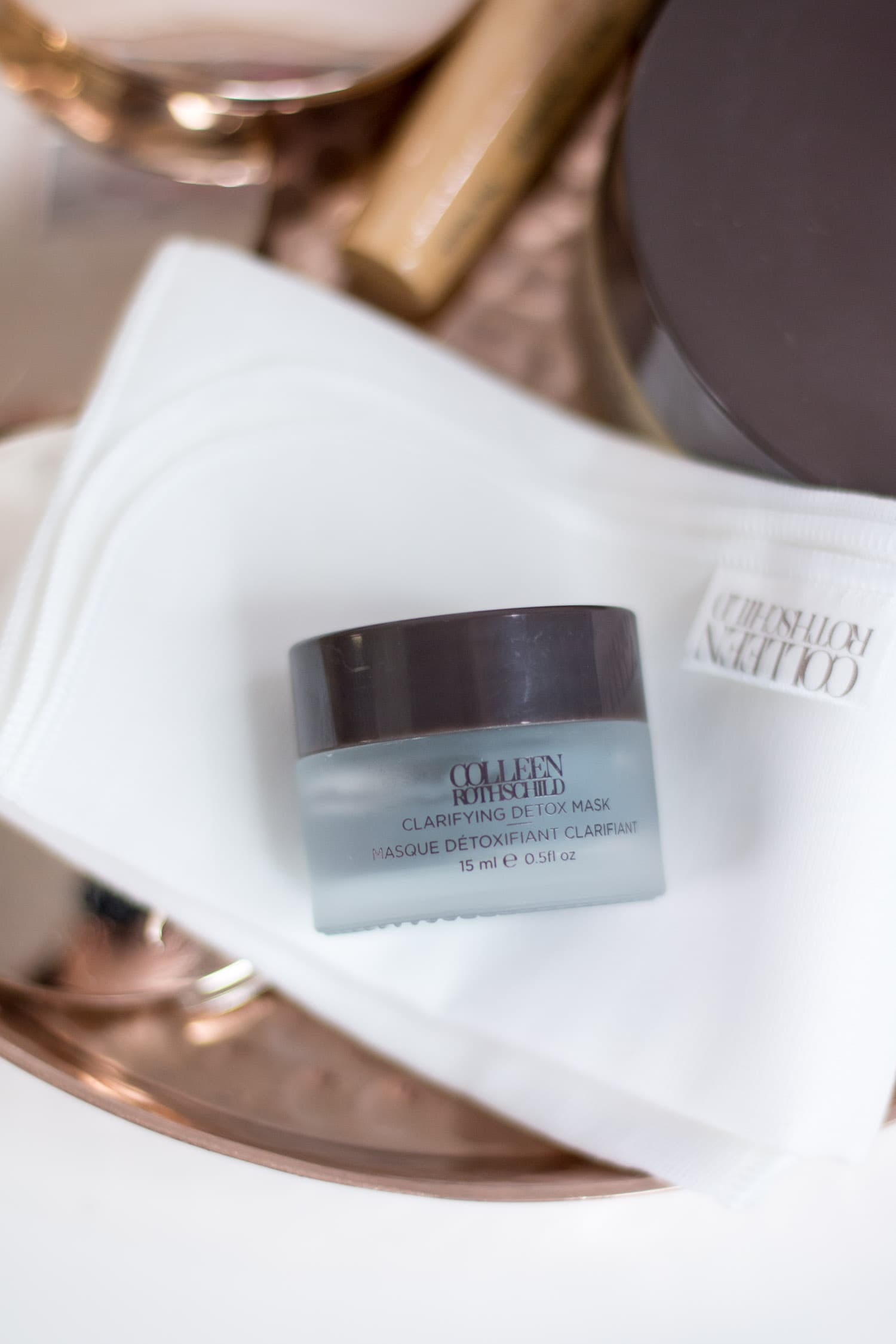 The best charcoal face mask + a review of Colleen Rothschild Clarifying Detox Mask | The seven skin care products that every woman needs in her beauty routine + the best skin care products from Colleen Rothschild Beauty with Orlando, Florida beauty blogger Ashley Brooke Nicholas