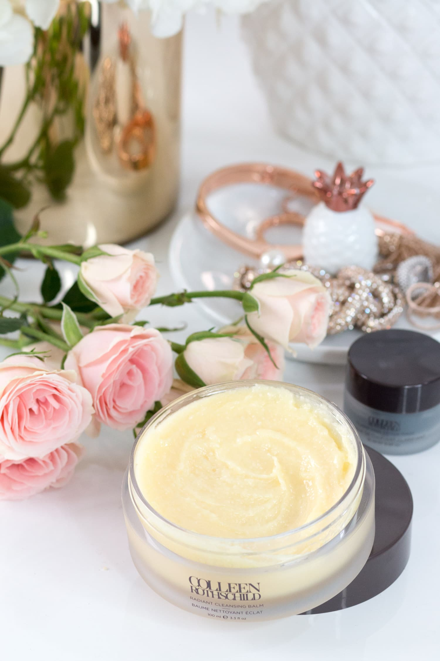 How to use cleansing balm + a review of Colleen Rothschild Radiant Cleansing Balm aka the best oil-based cleansing balm on the market! | The seven skin care products that every woman needs in her beauty routine + the best skin care products from Colleen Rothschild Beauty with Orlando, Florida beauty blogger Ashley Brooke Nicholas