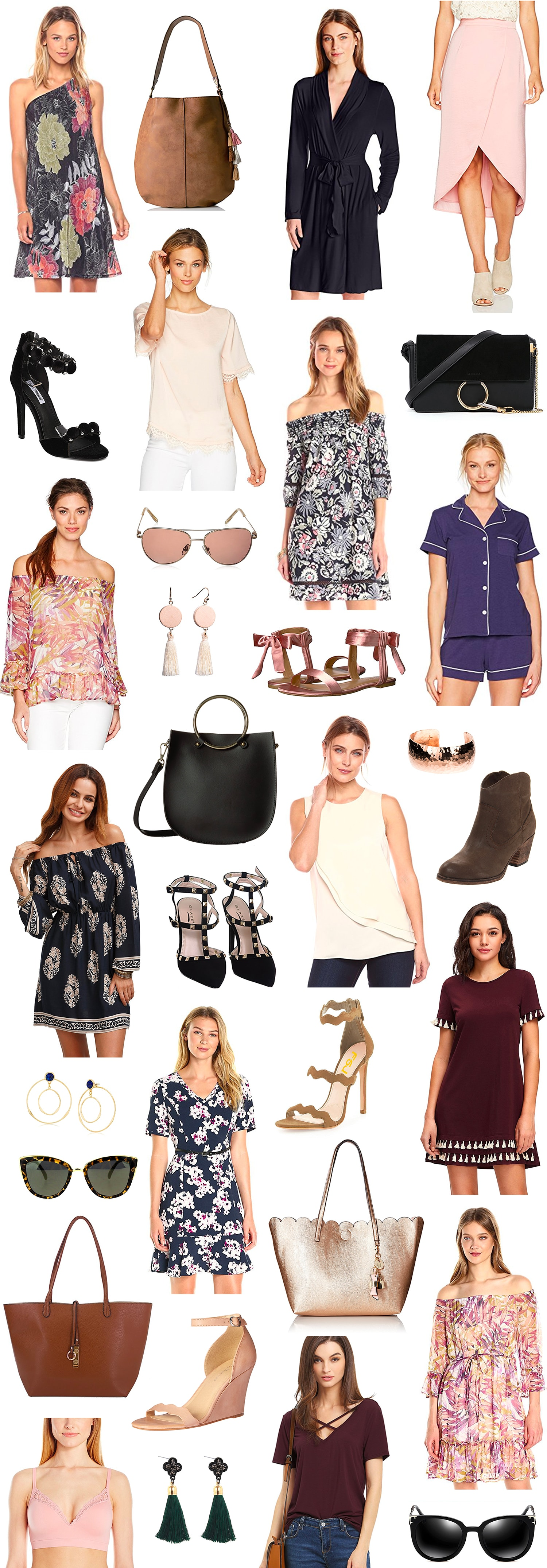 cute amazon finds under $50 Ashley Brooke Nicholas fashion beauty blogger cute dresses and purses