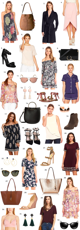amazon  fashion finds under $50 Ashley Brooke Nicholas fashion beauty blogger cute dresses and purses