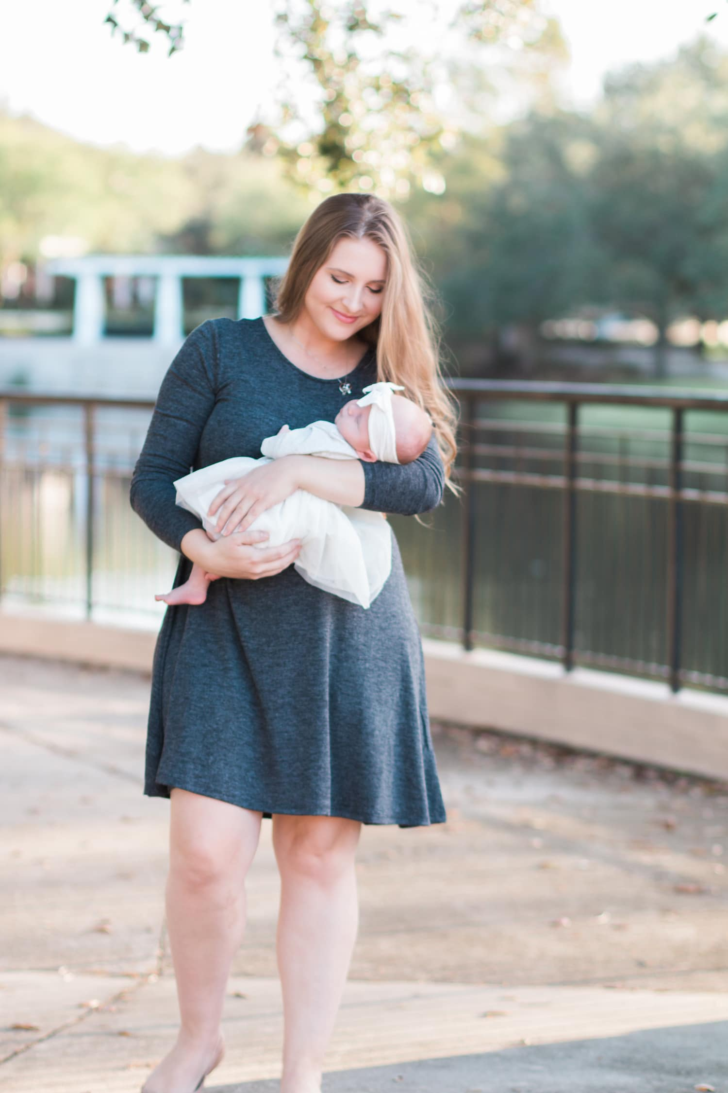 new mom becoming a mother newborn baby Ashley Brooke Nicholas blogger | Viactiv