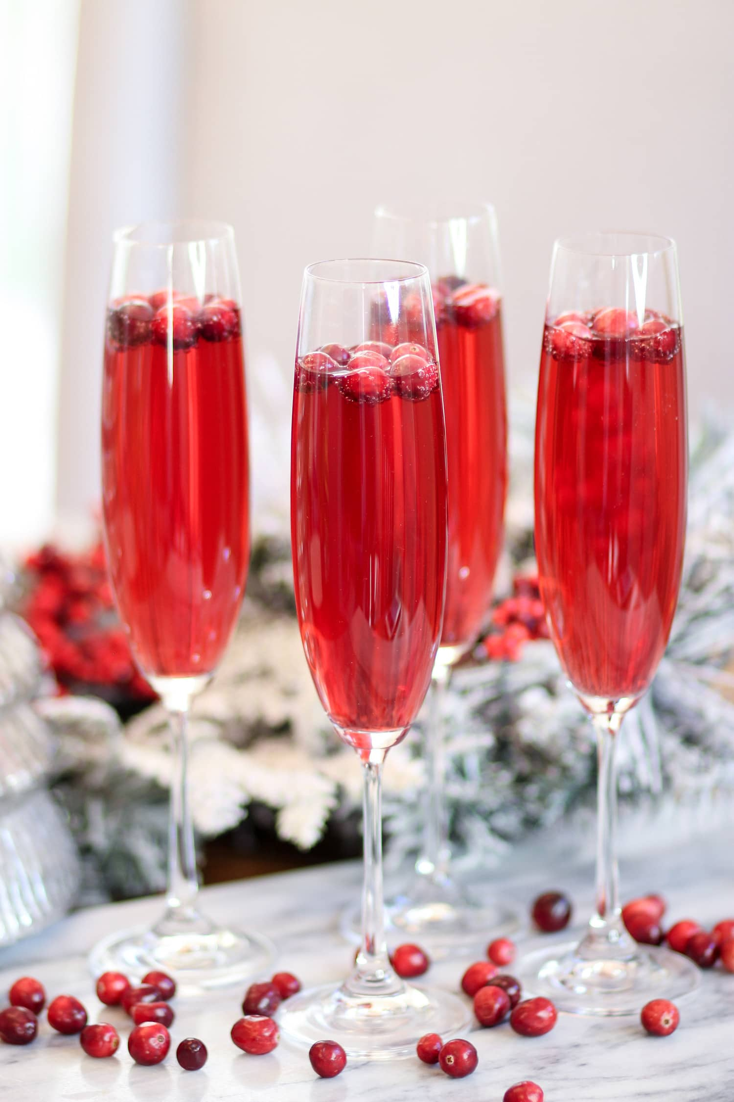holiday party on a budget schweppes ginger ale mocktail cranberry drink Ashley Brooke Nicholas