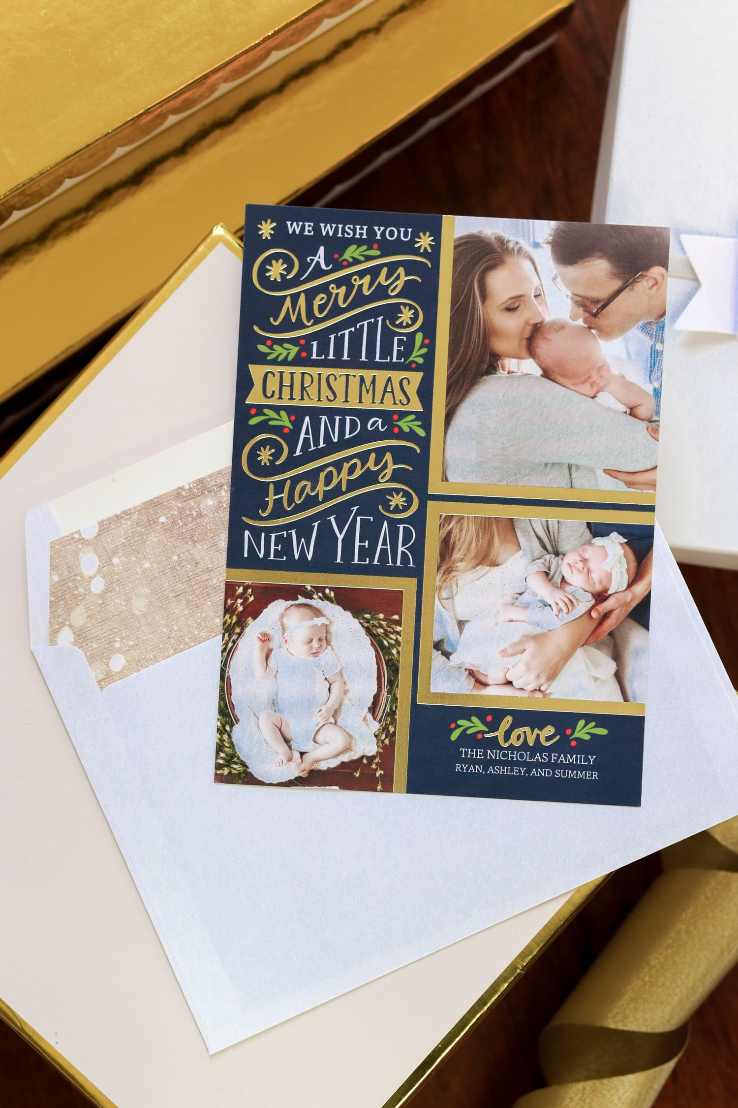 Personalized christmas gift ideas from shutterfly ashley for Best personalized christmas cards