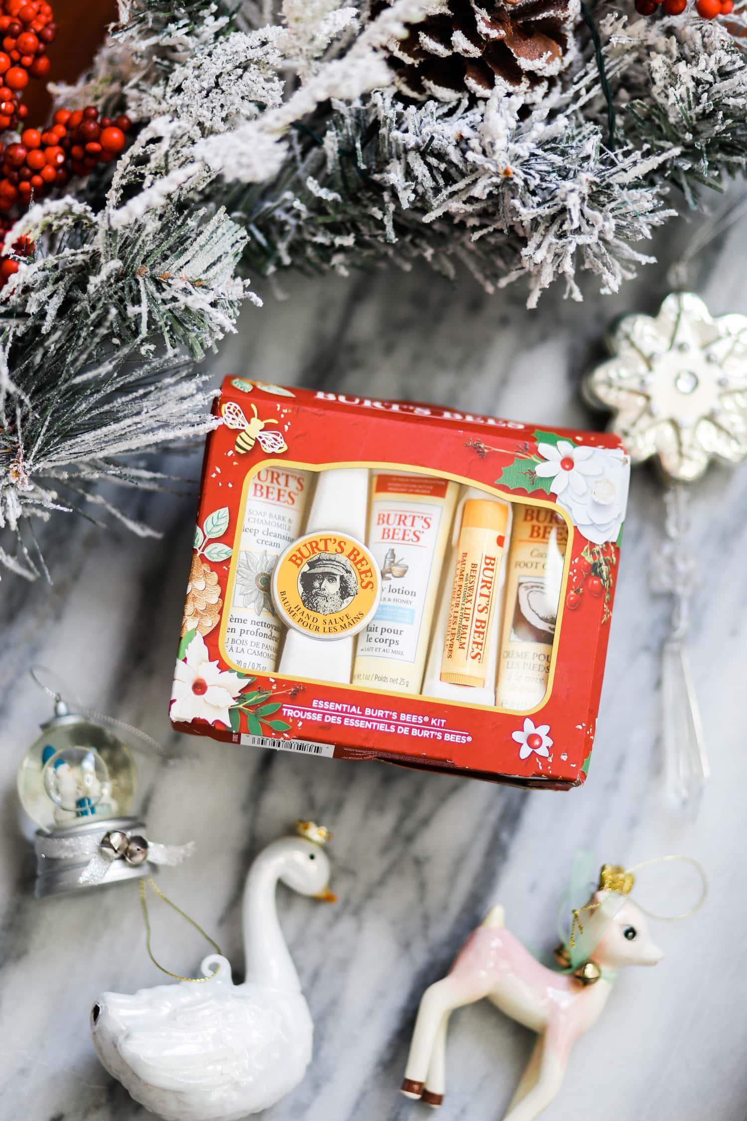 Burt's Bees Christmas gift ideas Christmas tree