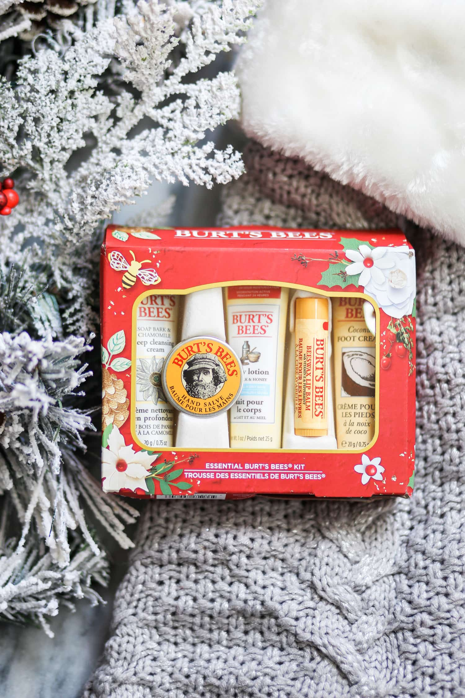Burt's Bees Christmas gift ideas Christmas tree ornaments lip balm