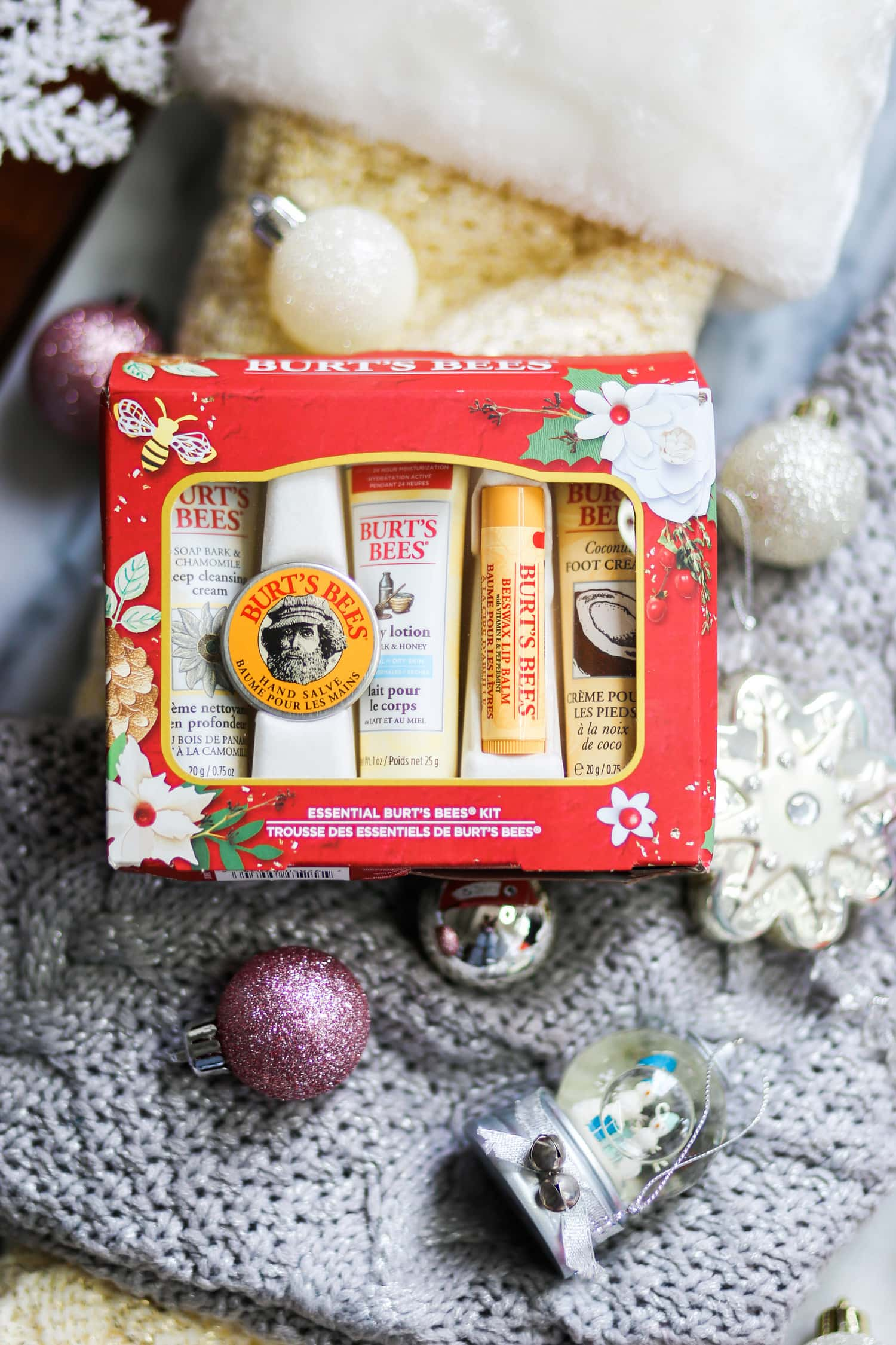 My Go-To Burt\'s Bees Christmas Gifts Under $10 | Ashley Brooke Nicholas