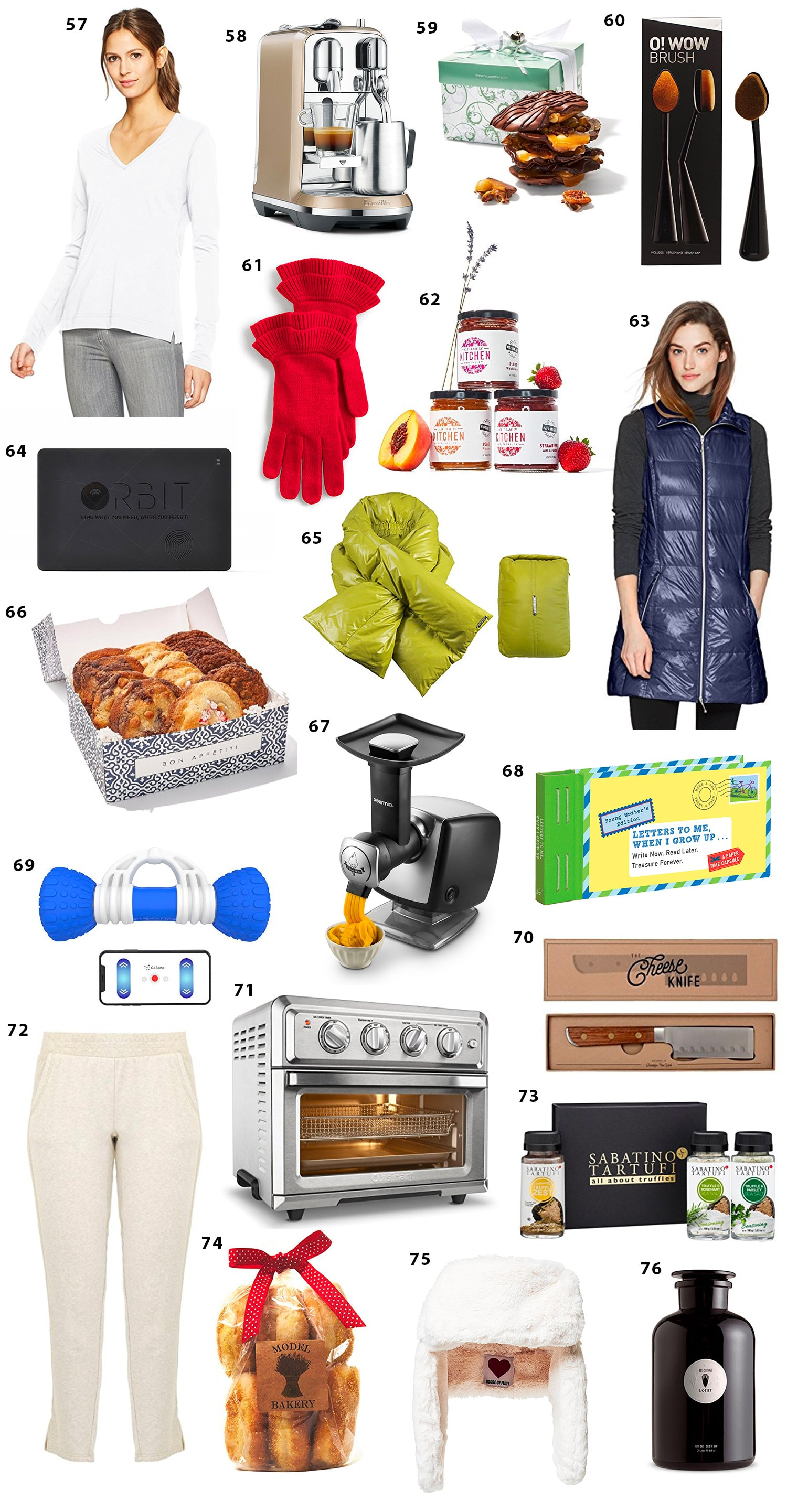 Oprah's favorite things episode shopping gift ideas for holidays Ashley Brooke Nicholas blogger