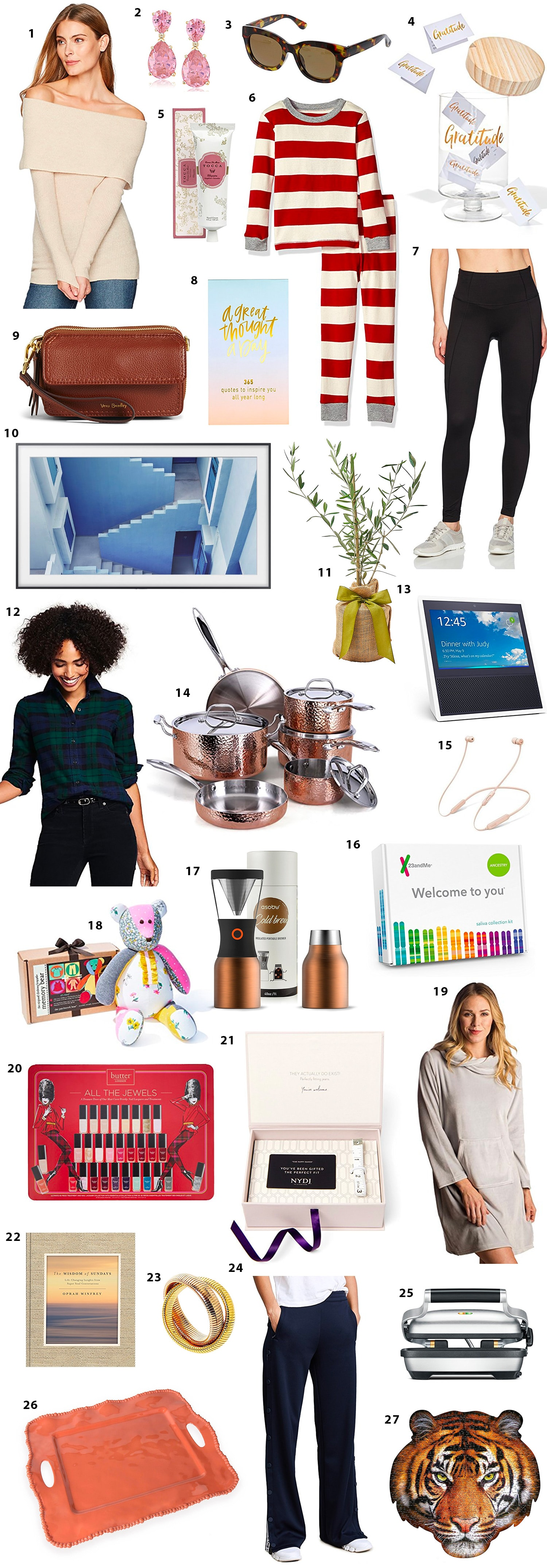 Oprah's favorite things episode shopping gift ideas for holidays