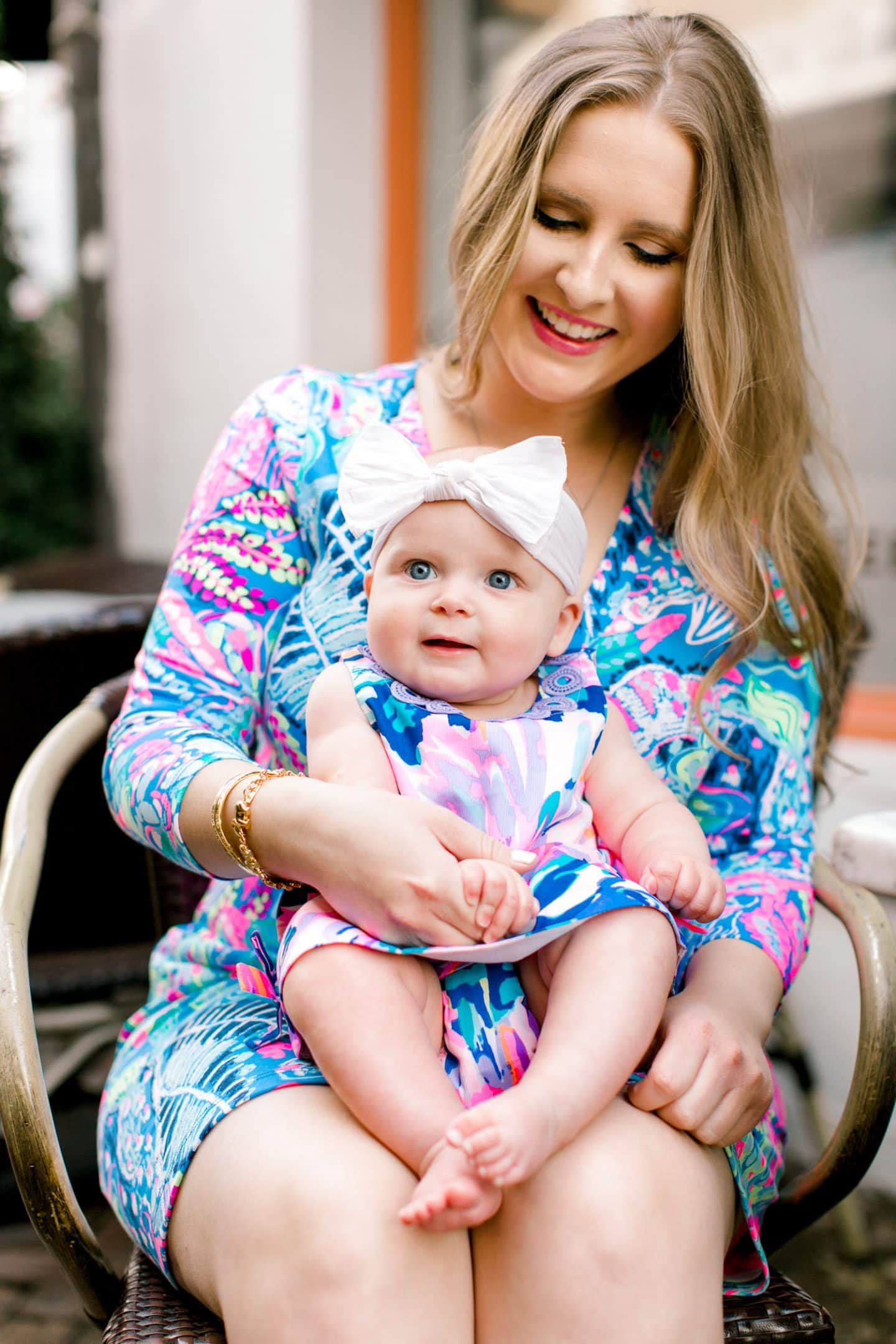 Summer was so excited to see that we matched the first time we wore this  mommy and me outfit 6650f47cddee
