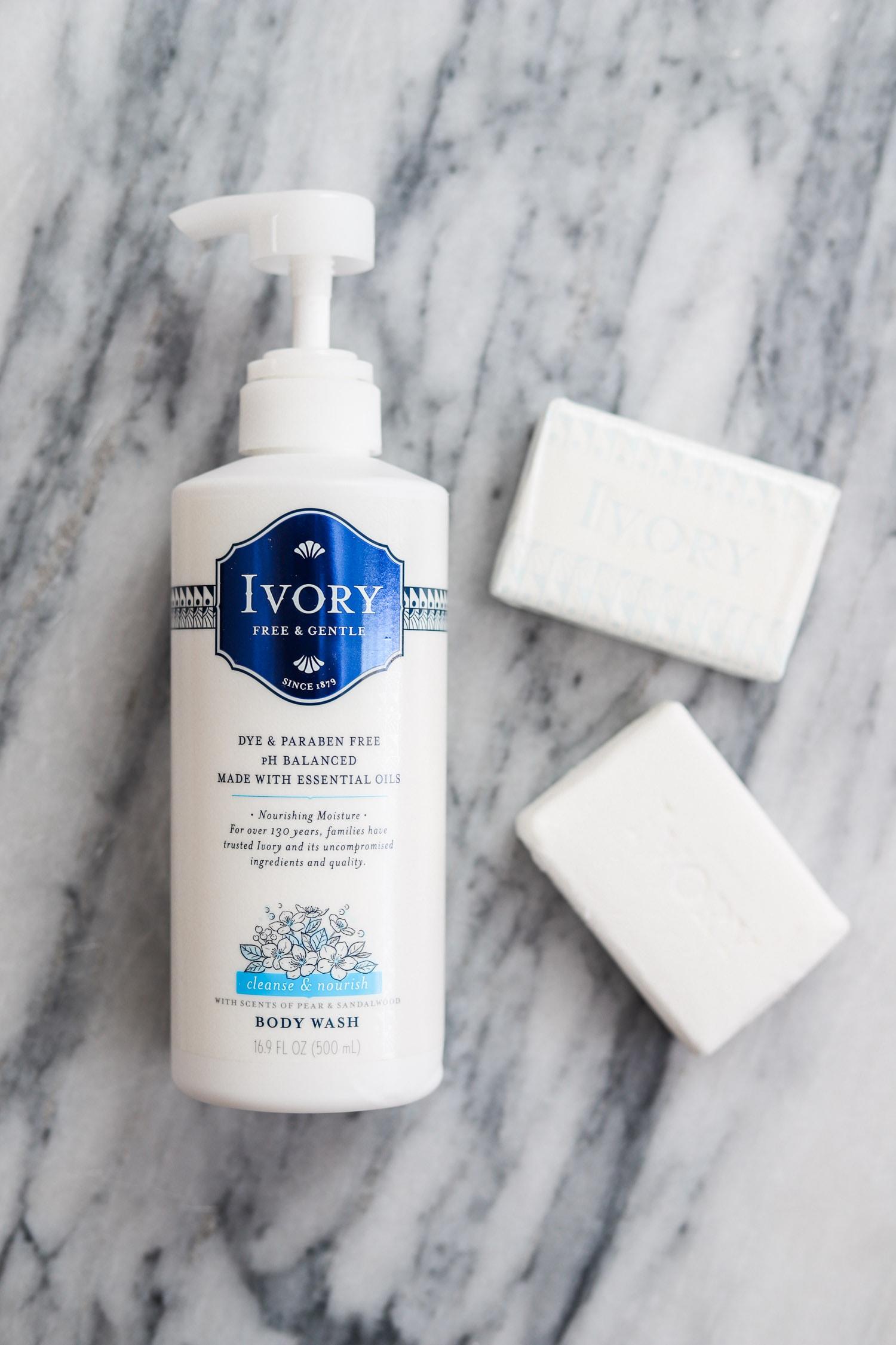 Ivory lotion | grandmother's beauty secrets | Ashley Brooke Nicholas