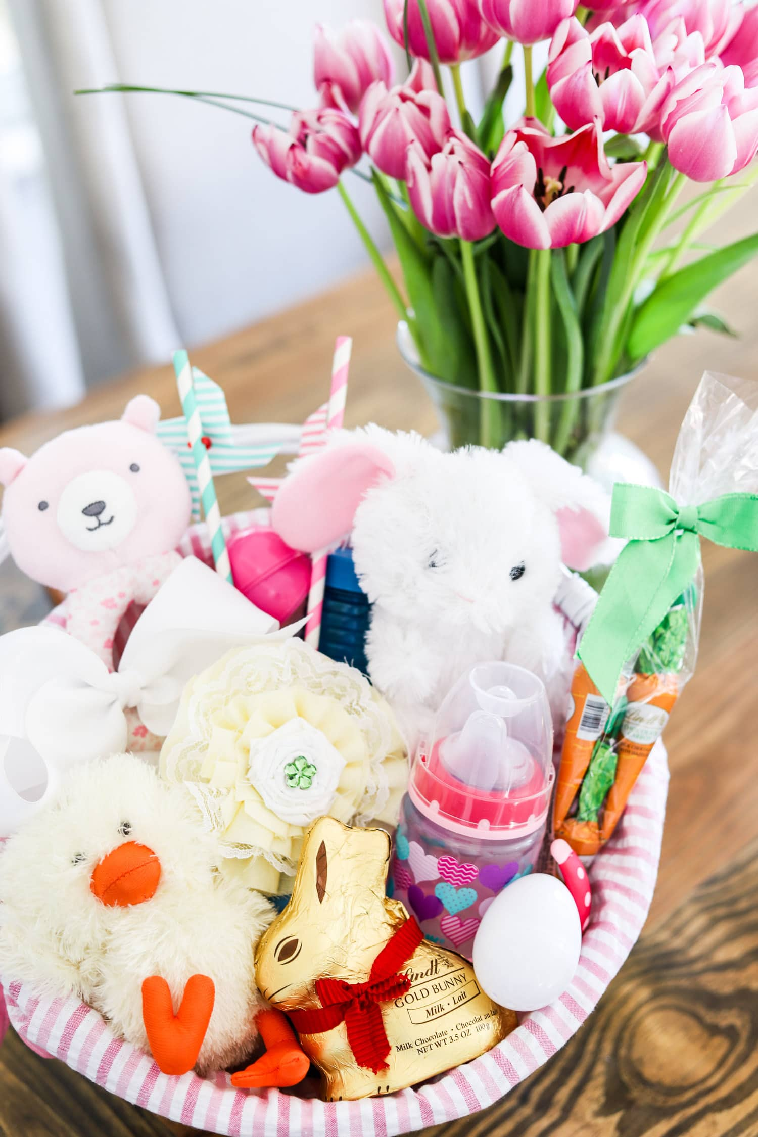 Cute easter basket ideas party favors ashley brooke nicholas cute easter party ideas lindt gold bunny easter negle