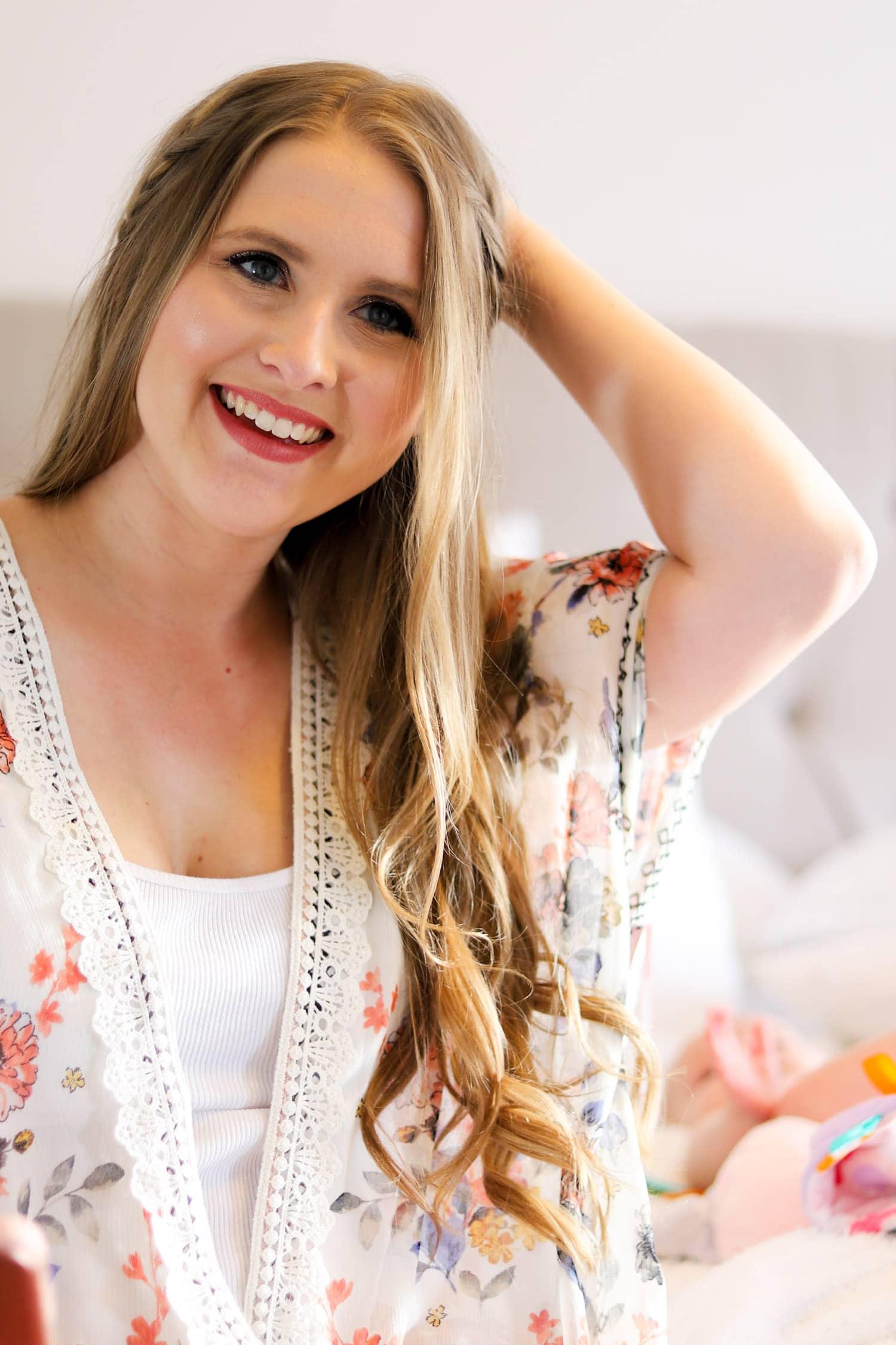 Easy cute boho hair tutorial ashley brooke nicholas smiling woman beautiful easy boho hair tutorial cute hair tutorial dirty blonde hair baditri Choice Image