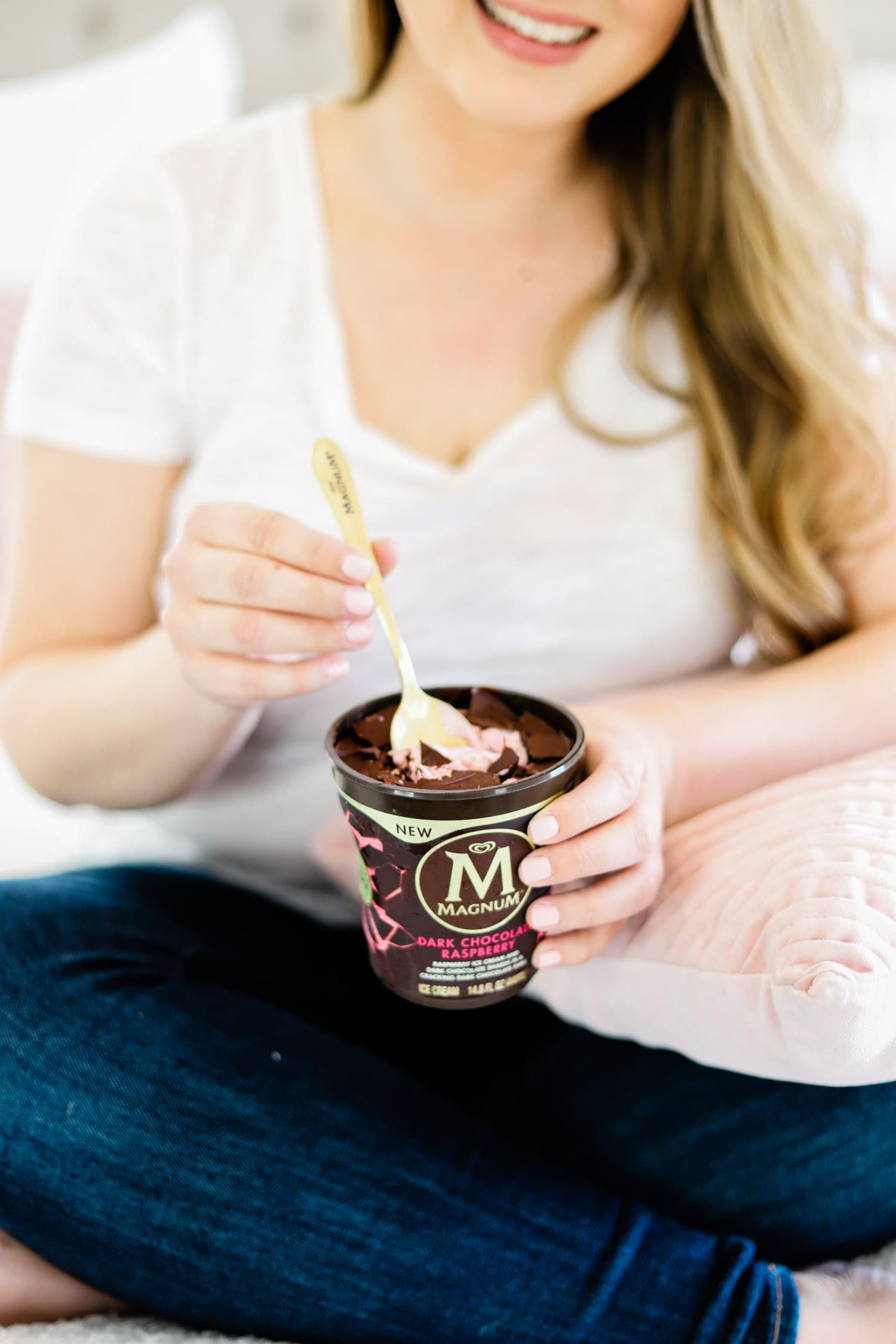 girls date, magnum ice cream, date night, ice cream, dessert, Ashley Brooke Nicholas