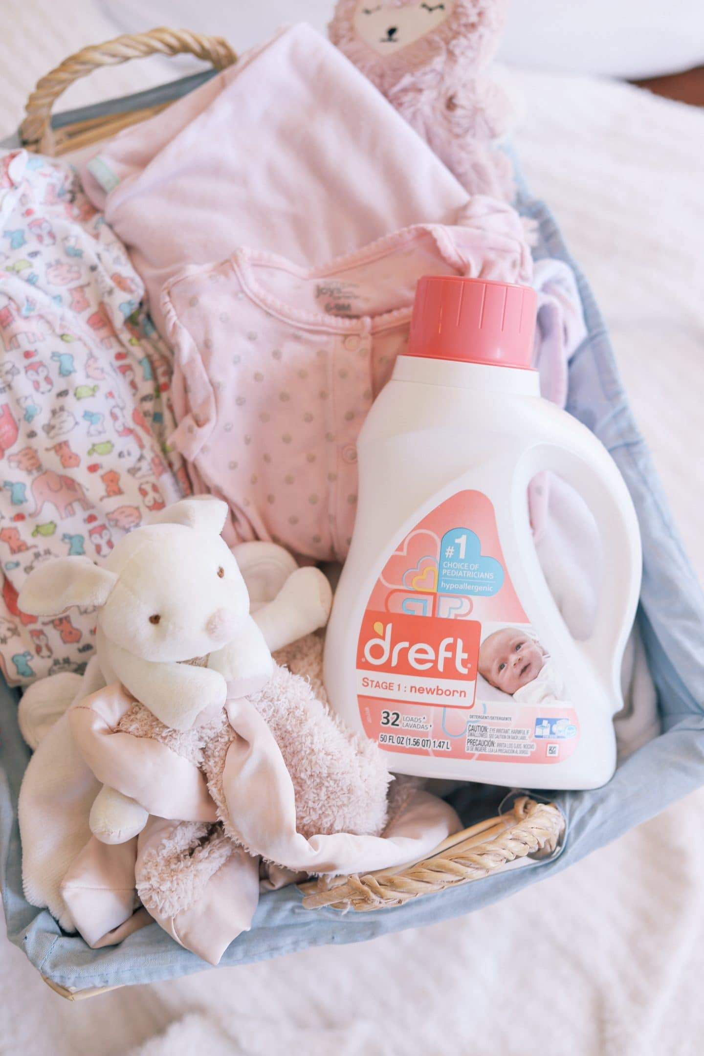 New Mom Tip How To Pre Wash Baby Clothes Ashley Brooke