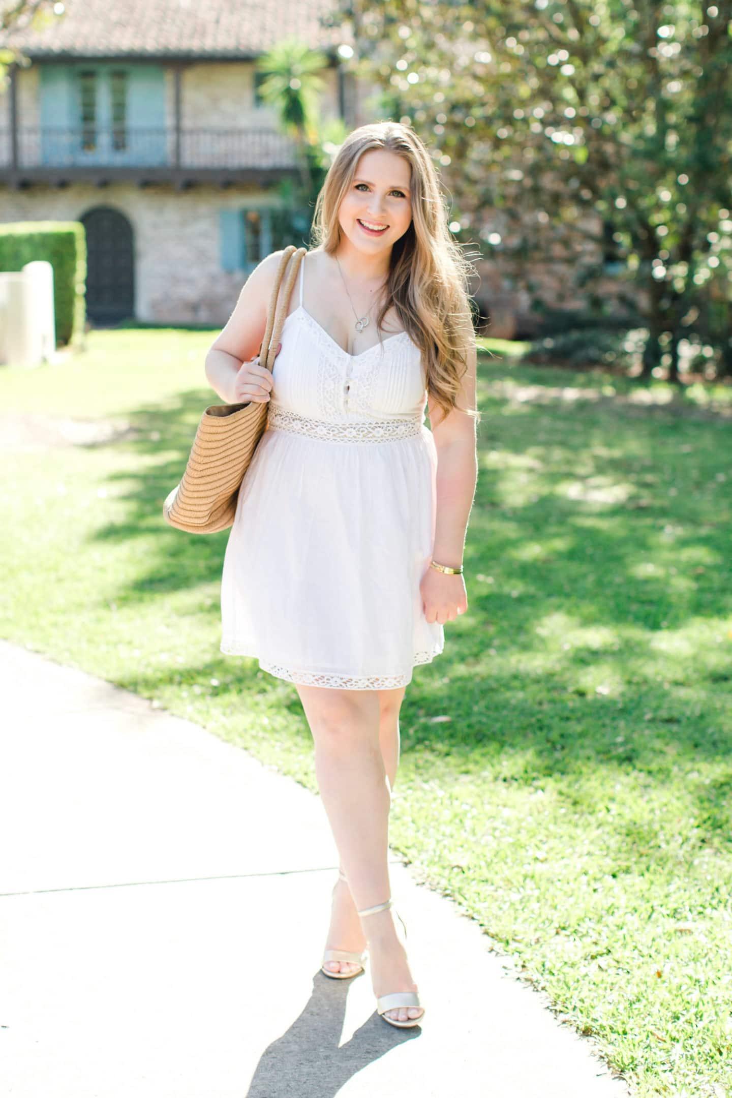 Vacation-Ready Red Floral Dress | Ashley Brooke Nicholas