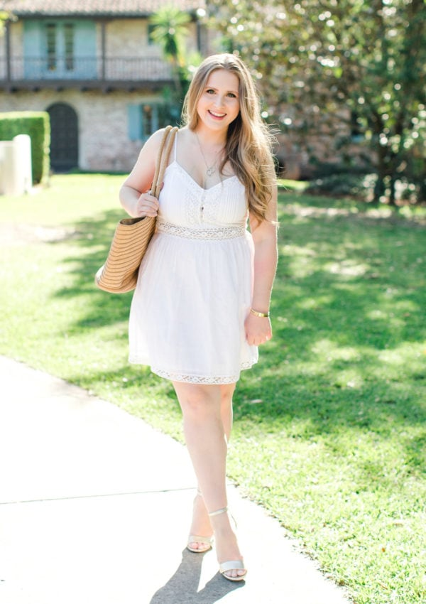 The Perfect White Lace Dress + The Best Abercrombie Sale Finds