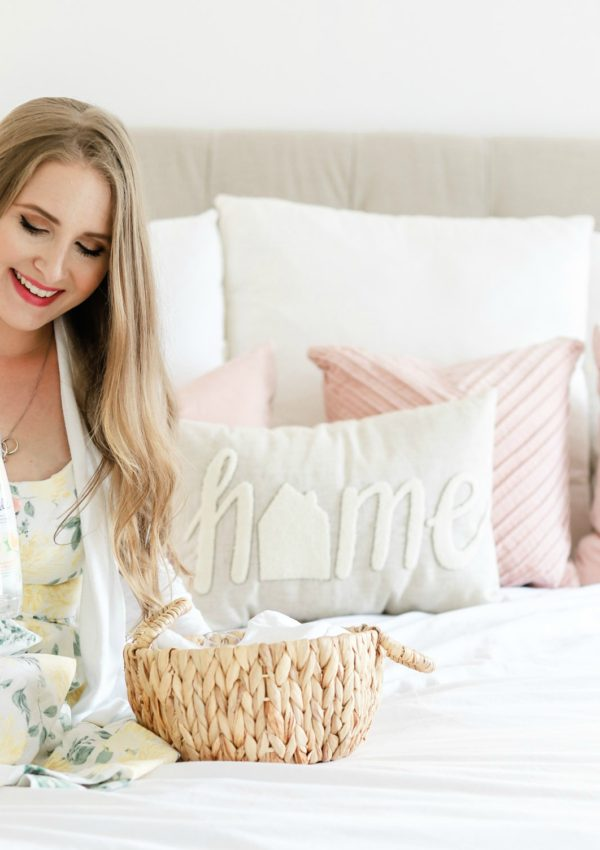 How to Freshen Up Your Home Decor for Spring: Light And Airy Bedroom