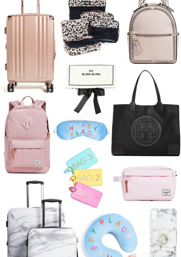 The Cutest Luggage And Travel Accessories