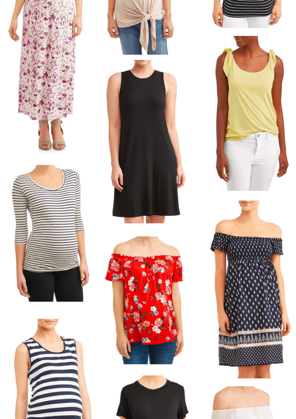Maternity-Friendly Walmart Fashion Under $25