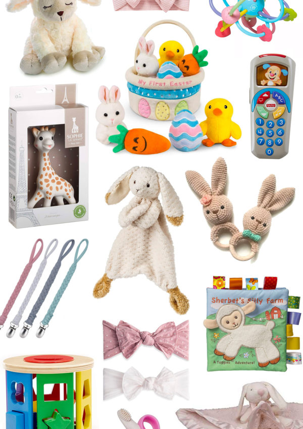 Cute Easter Basket Ideas for Babies