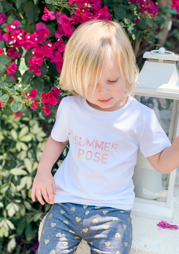 How to Make Custom Name Shirts for Kids with Cricut Joy