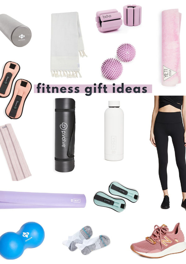 Unique fitness Christmas gift ideas for women - the perfect holiday gifts for women who love to workout!